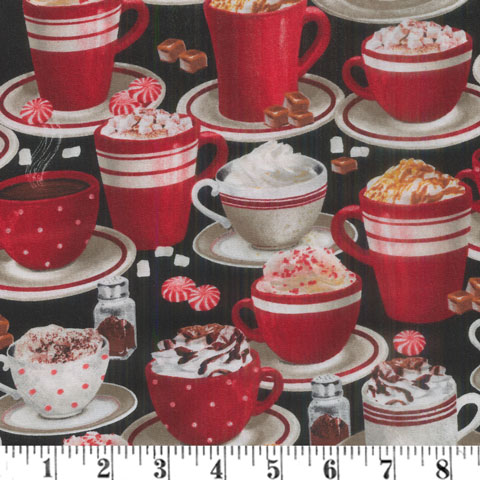 AJ483 Time for Hot Cocoa - Allover Cups preview