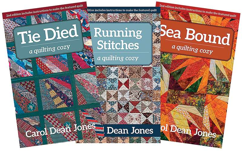 A Quilting Cozy Book Club preview