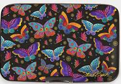 Laurel Burch's Butterfly Art on an Armoured Wallet  preview