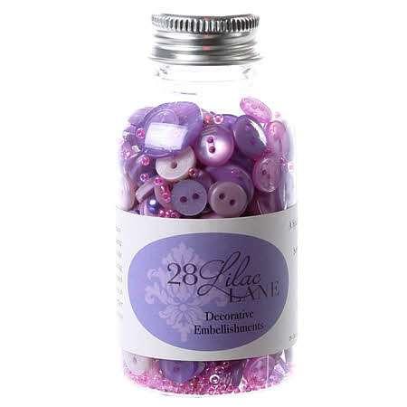 Embellishment Bottle - On Lilac Lane