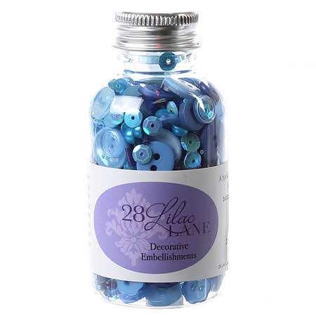 Embellishment Bottle - Winter Blues
