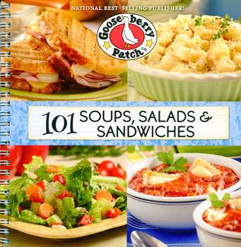 101 Soups, Salads & Sandwiches (Book)