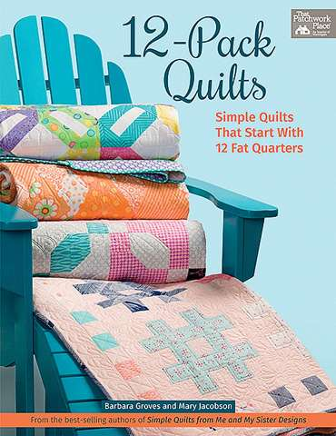 12-Pack Quilts by Barbara Groves & Mary Jacobson (Book)
