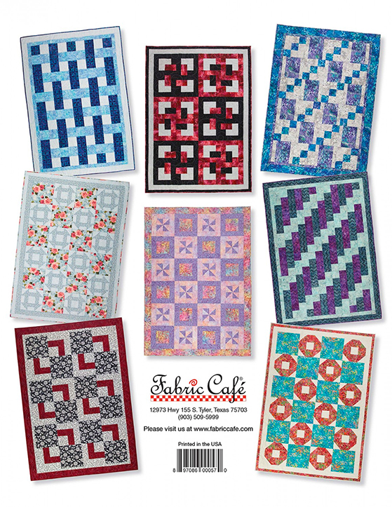 Quick as a Wink 3-Yard Quilts by Donna Robertson preview