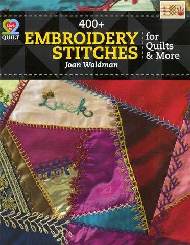 400+ Embroidery Stitches by Joan Waldman (Book)