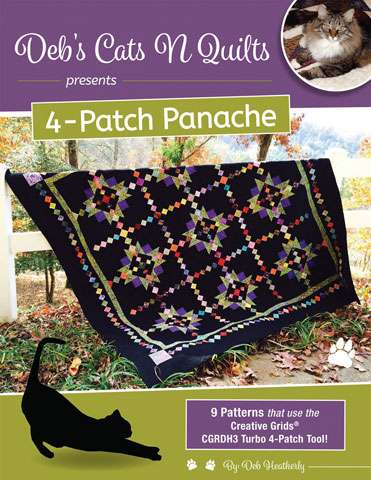 4-Patch Panache by Deb Heatherly (Book)