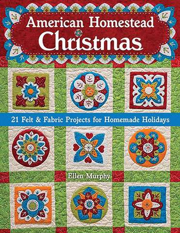 American Homestead Christmas by Ellen Murphy (Book)