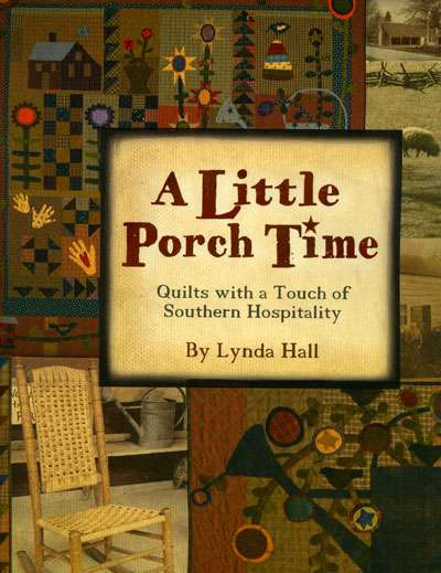 A Little Porch Time by Lynda Hall (Book)