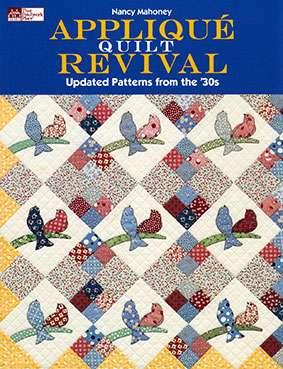 Applique Quilt Revival by Nancy Mahoney (Book)