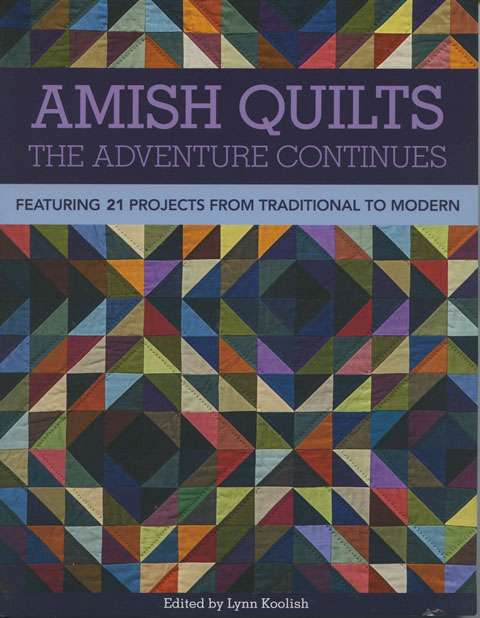 Amish Quilts The Adventure Continues by Lynn Koolish (Book)