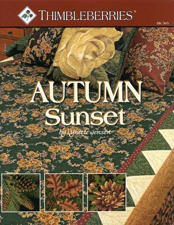 Autumn Sunset by Lynette Jensen (Book)