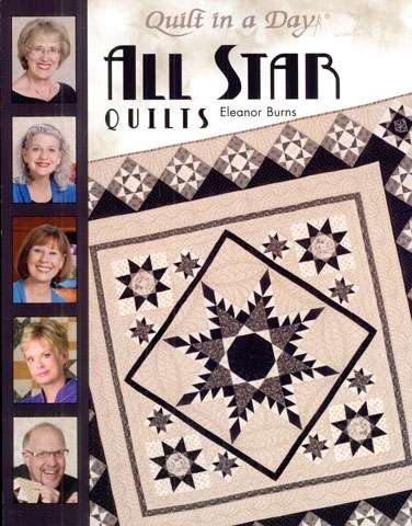 All Star Quilts by Eleanor Burns (Book)