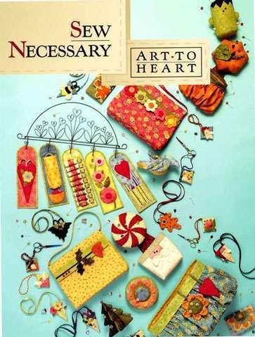 Art to Heart - Sew Necessary by Nancy Halvorsen (Book)