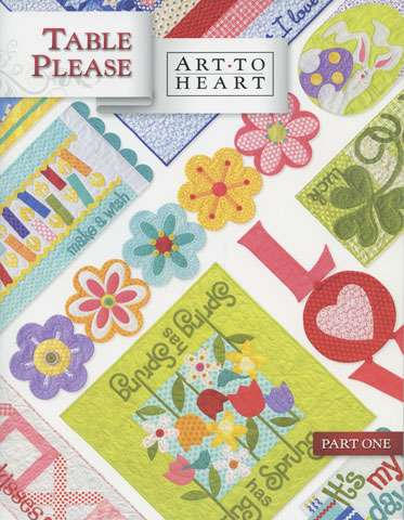 Art to Heart - Table Please (Part One) by Nancy Halvorsen  preview