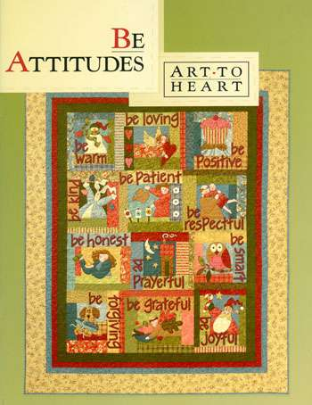 Be Attitudes by Art To Heart (Book)