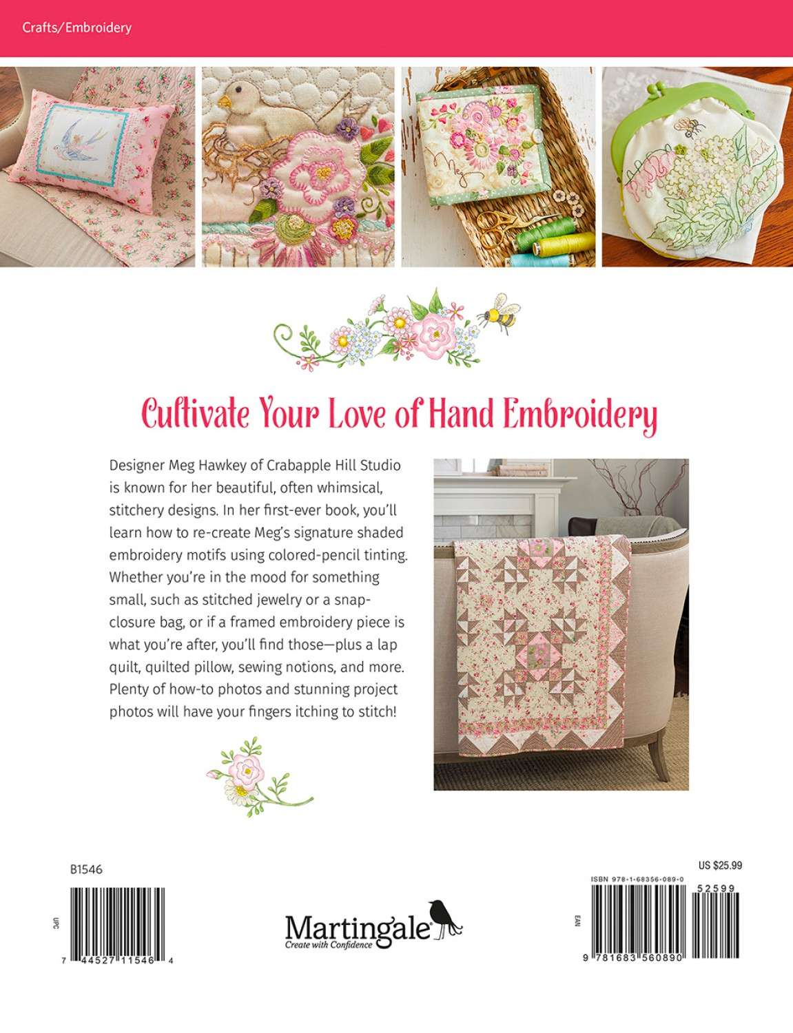 Blooms and Blossoms - Sweet Sticheries Picked from Nature - Meg Hawkey preview