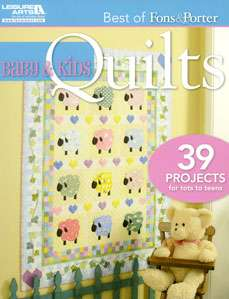 Best of Fons and Porter: Baby and Kids Quilts (Book)