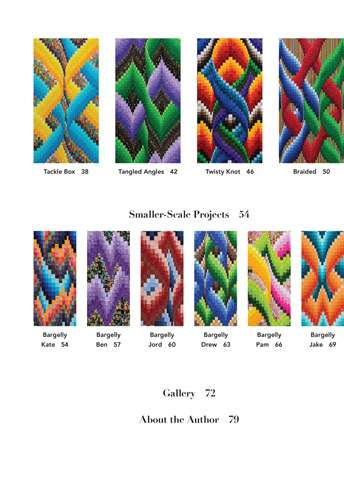 Braided Bargello Quilts by Ruth Ann Berry (Book) preview
