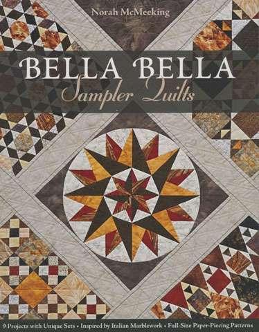 Bella Bella Sampler Quilts by Norah McMeeking (Book)
