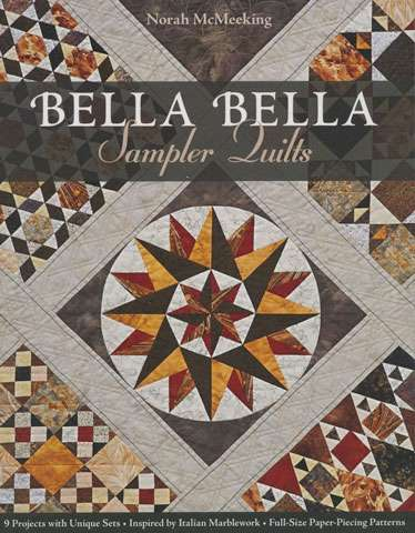 Bella Bella Sampler Quilts by Norah McMeeking (Book)