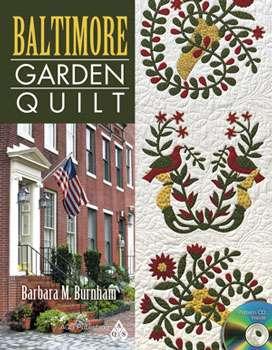 Baltimore Garden Quilt by Barbara M. Burnham (Book)