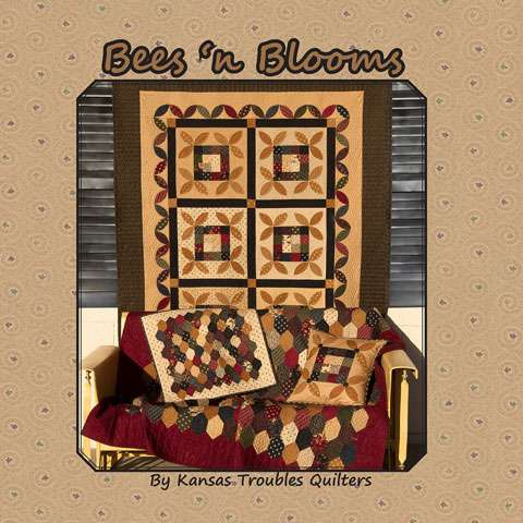 Bees 'n Blooms by Kansas Trouble Quilters (Book)