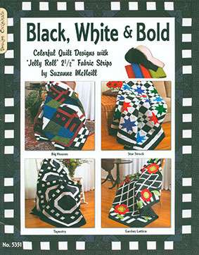 Black, White & Bold by Suzanne McNeill (Book)