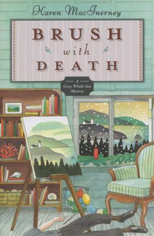 Brush with Death by Karen MacInerney (Book)