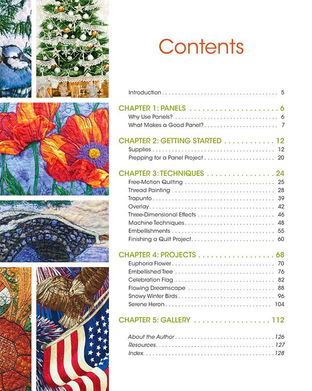 Creating Art Quilts With Panels by Joyce Hughes (Book) preview