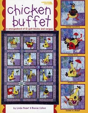 Chicken Buffet by Leisure Arts (Book)