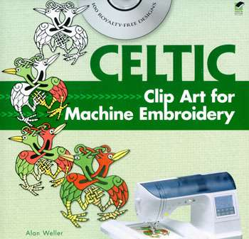 Celtic Clip Art for Machine Embroidery (Book)