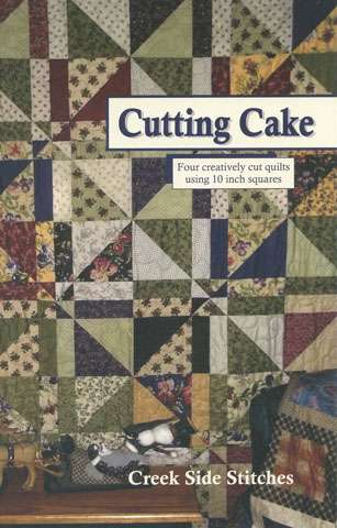 Cutting Cake - Creek Side Stitches (Booklet)