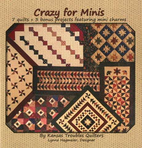 Crazy for Minis by Kansas Troubles Quilters (Book)