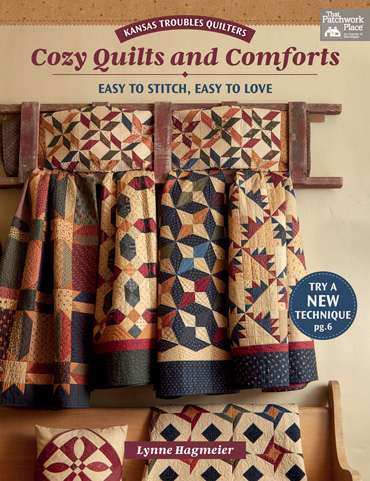 Cozy Quilts and Comforts by Lynne Hagmeier (Book)