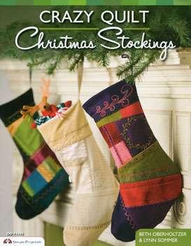 Crazy Quilt Christmas Stockings (Book)