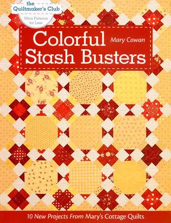 Colorful Stash Busters by Mary Cowan (Book)