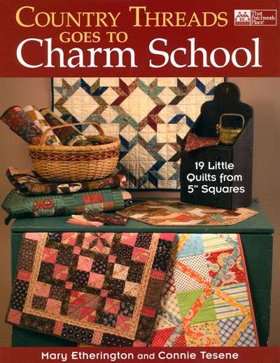 Country Threads Goes To Charm School (Book)