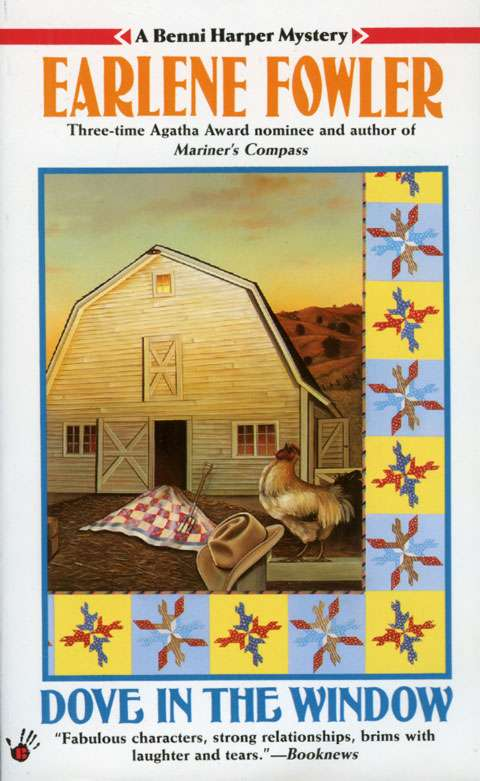 Dove in the Window by Earlene Fowler (Softcover Book)