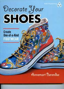 Decorate Your Shoes by Annemart Berendse (Book)