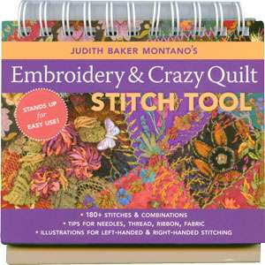Embroidery & Crazy Quilt Stitch Tool (Book) preview