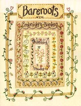 Embroidery Borders - Bareroots (Booklet)