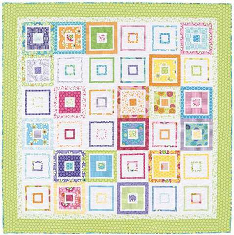 Easy Layer-Cake Quilts by B. Groves & M. Jacobson (Book) preview