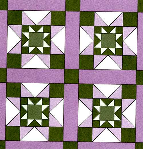 Encyclopedia of Patchwork Blocks Volume 1 by Marti Michell preview