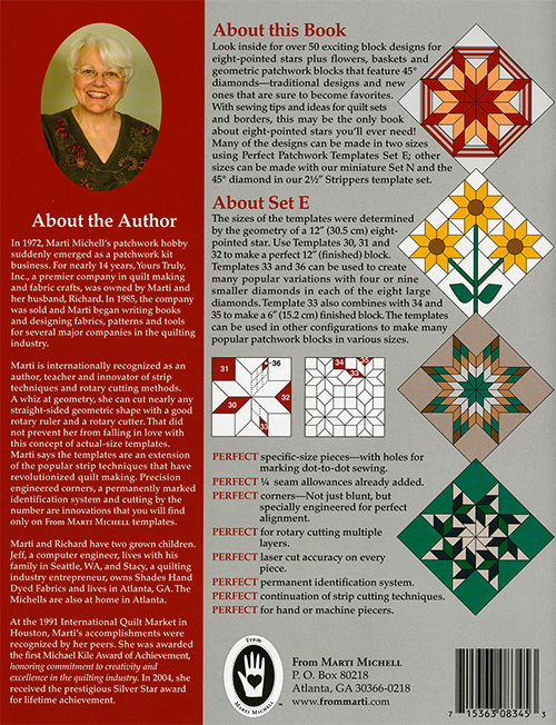 Encyclopedia of Patchwork Blocks Volume 3 by Marti Michell preview