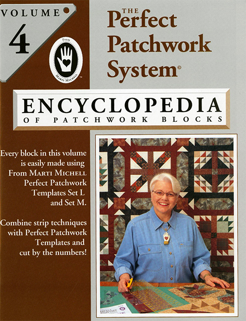 Encyclopedia of Patchwork Blocks Vol 4 by Marti Michell