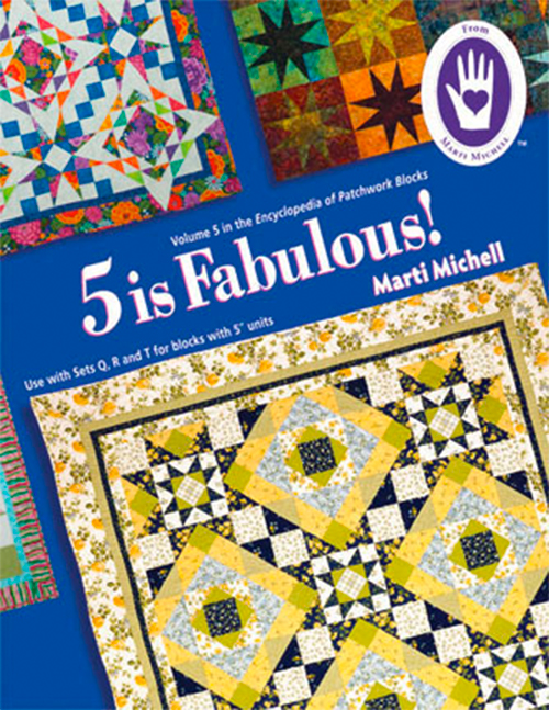 5 is Fabulous! - Volume 5 Encyclopedia of Patchwork Blocks preview