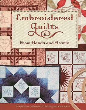 Embroidered Quilts from Hands and Hearts (Book)