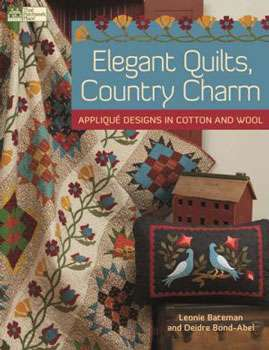 Elegant Quilts, Country Charm (Book)