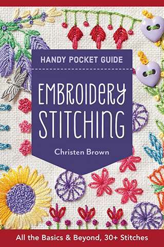 Embroidery Stitching - Handy Pocket Guide by Christen Brown preview