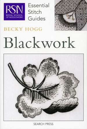 Essential Stitch Guides - Blackwork (Book)